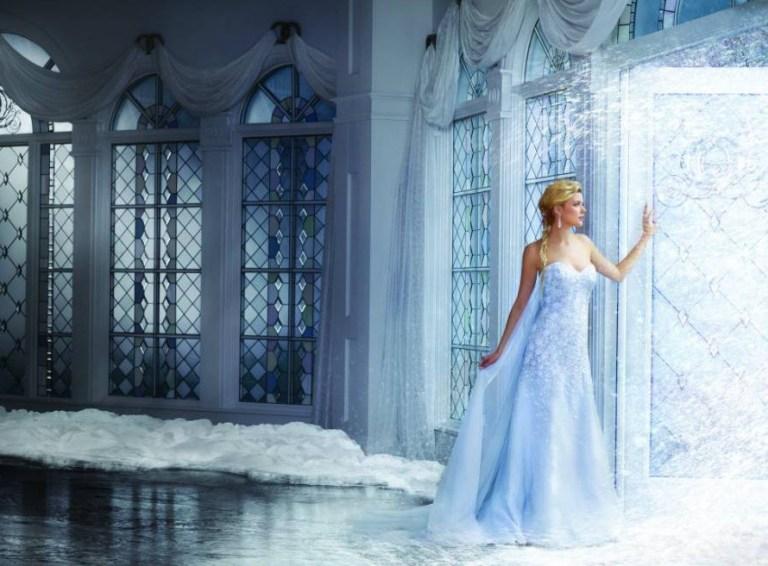 Frozen Alfred Angelo wedding dress